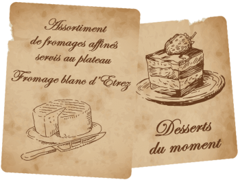 fromages,desserts